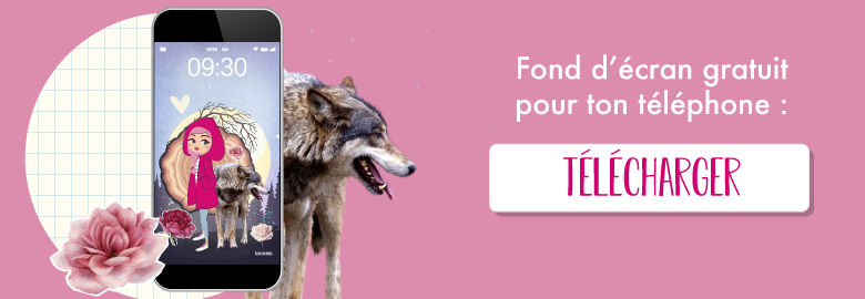 🍒 Télécharge gratuitement tes fonds d'écrans pour décembre 2018 sur le thème du petit chaperon rouge ! Sur Goodie Mood le blog Feel Good et Créativité 🌟 #developpementpersonnel #penseepositive #feelgood #blog #psychologiepositive #bienetre #inspiration #lepetitchaperonrouge #illustration #wallpaper #graphisme #fonddecran #iphone #litthleridinghood #cadeau #feelgood
