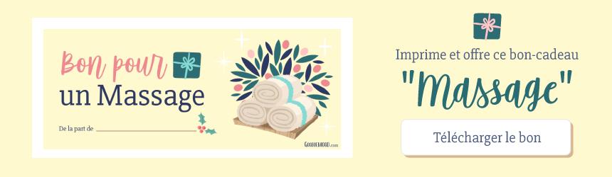 🎄Imprime et offre ce bon-cadeau pour un massage pour un Noël minimaliste ! 🌟 Sur Goodie Mood, le blog Feel Good et Créativité 💗 #noel #minimaliste #minimalisme #creativite #bonscadeaux #bon #cadeau #graphisme #bienetre #inspiration #offrir #printable #creativite #design #goodiemood
