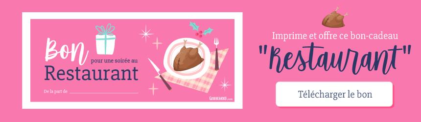 🎄Imprime et offre ce bon-cadeau pour une soirée au restaurant pour un Noël minimaliste ! 🌟 Sur Goodie Mood, le blog Feel Good et Créativité 💗 #noel #minimaliste #minimalisme #creativite #bonscadeaux #bon #cadeau #graphisme #bienetre #inspiration #offrir #printable #creativite #design #goodiemood