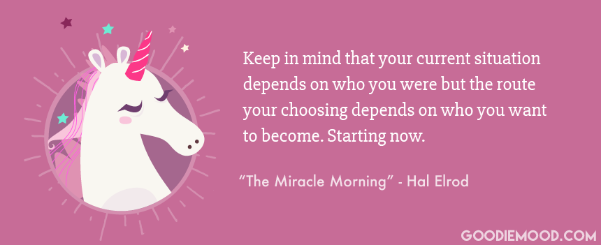 Citation by Hal Elrod - The Miracle Morning