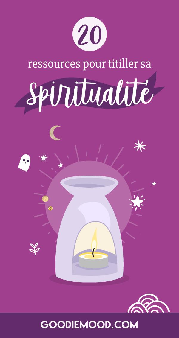 20 Ressources Spirituelles pour titiller ta spiritualité 🌟 Sur Goodie Mood le blog Feel Gool 💗 #spiritualite #curiosite #creativite #tystrya #conscience #esoterisme #magie #ame #amour #changerdevie #feelgood #bienetre #meditation