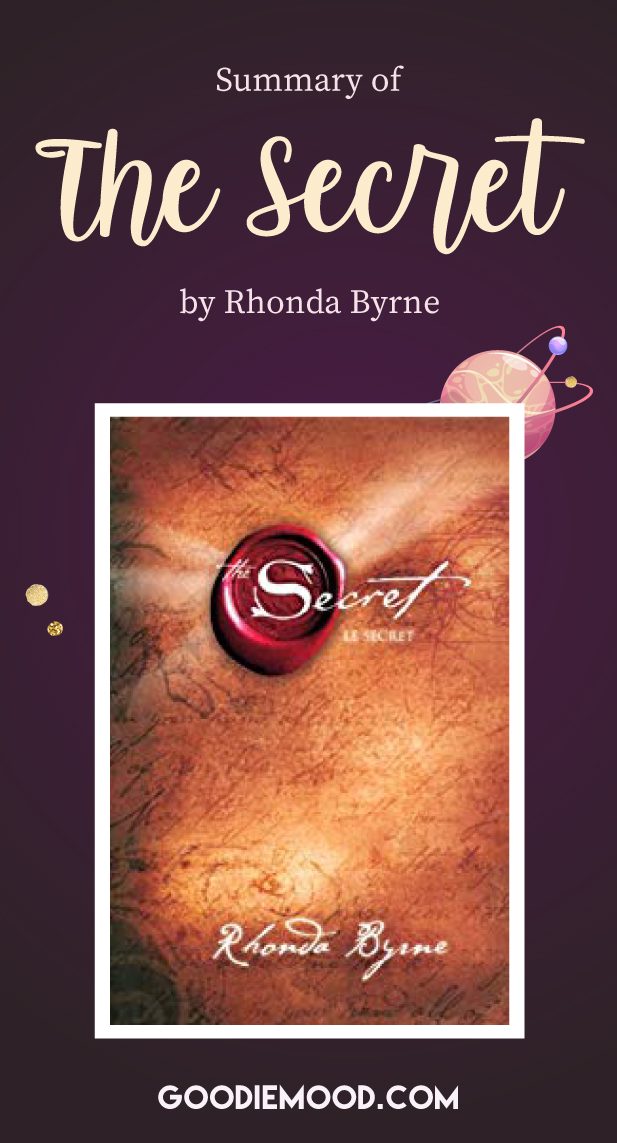 "Discover the summary of ""The Secret"" by Rhonda Byrne and learn more about the law of attraction ! #rhondabyrme #lawofattraction #gratitude #selfhelpbook #thesecret #happiness"