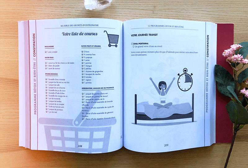 """""""Ma Bible des Secrets d'Ostéopathe"""" d'Astrid Béguin 4"""