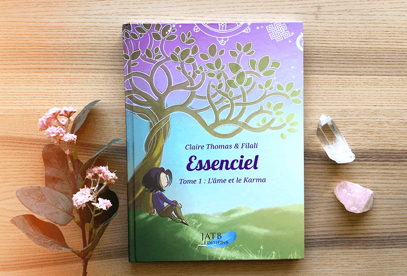"""Essenciel"" Tome 1, la BD de Claire Thomas"