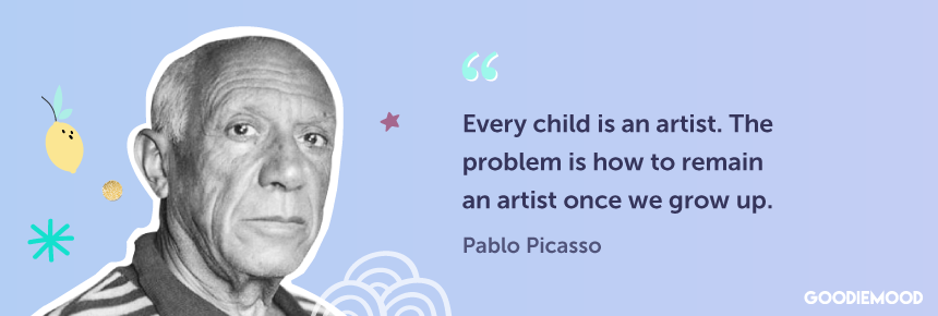 Quote by Pablo Picasso about Creativity