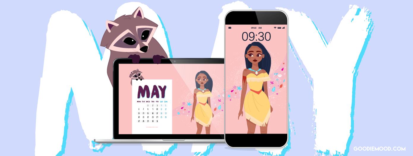 Fond d'écran gratuit Pocahontas pour mai 2019