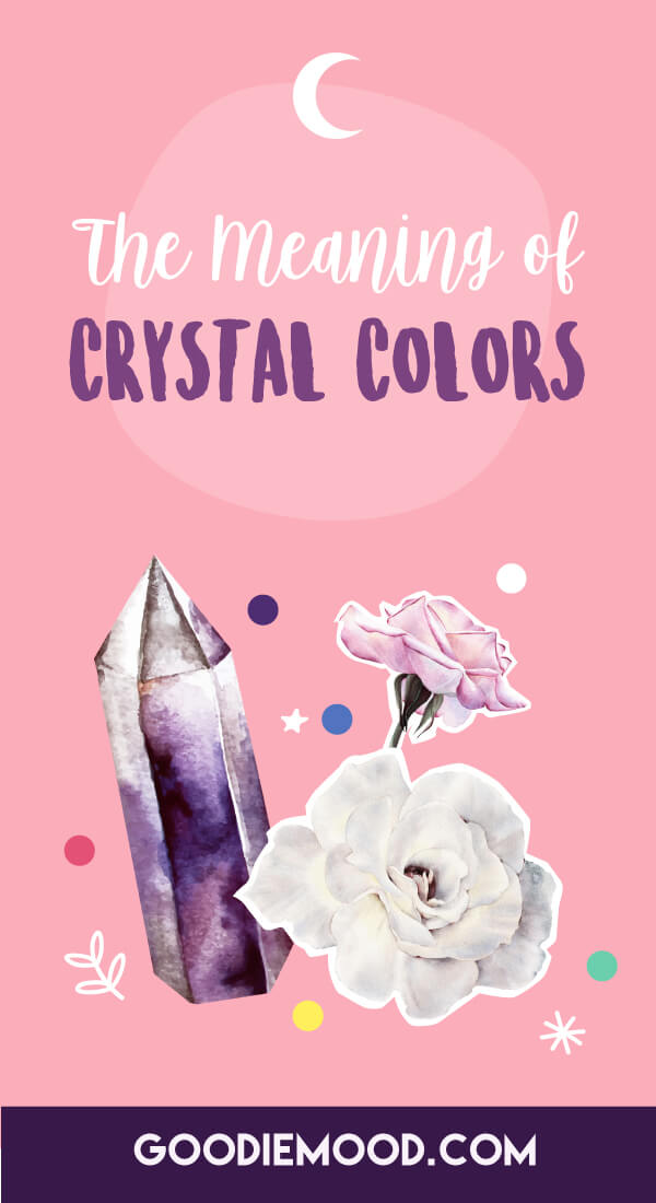 What The Colors Of Every Crystal Mean & How They Can Help You Choose The Right One #crystal #color #infographics #wellbeing #joy #love #happiness #rocks #minerals #gem