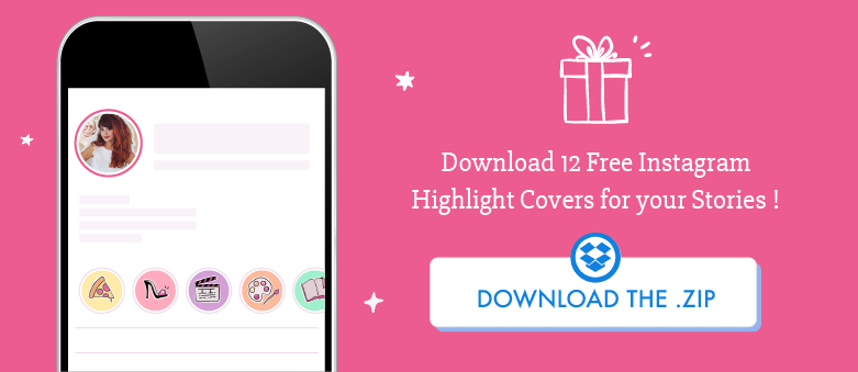 Download 12 free Instagram Highlights Covers