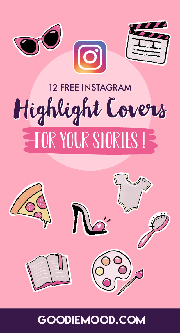 Download 12 free Instagram Highlights Covers #instagram #cover #highlight #story #free