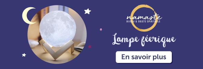 lampe 3D féerique Luna sur la boutique Namasté