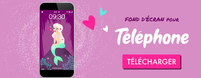 """Click pour télécharger ton fond d'écran gratuit pour téléphone """"sirène"""""""