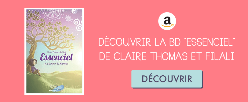 "découvrir la BD ""Essenciel"" de Claire Thomas Medium sur Amazon"