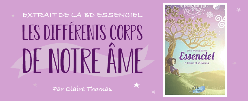"Extrait de la BD ""Essenciel"" de la medium Claire Thomas"