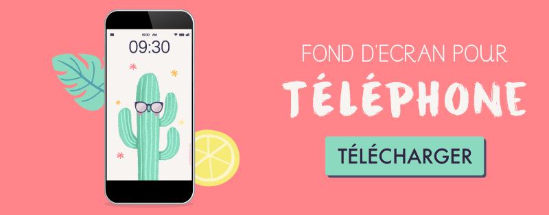 telechargez votre wallpaper fondd 'écran CACTUS pour telephone