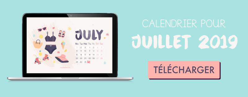 Téléchargez votre fond d'écran gratuit pour juillet  2019 #goodiemood