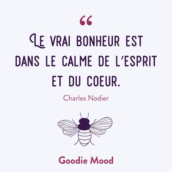 """""""Le vrai bonheur est dans le calme de l'esprit et du coeur."""" #citation #inspiration #bonheur #feelgood"""