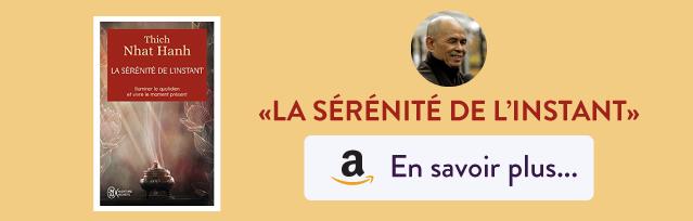 """Livre """"La sérénité de l'instan"""" du maitre zen Thich Nhat Hanh - Amazon"""