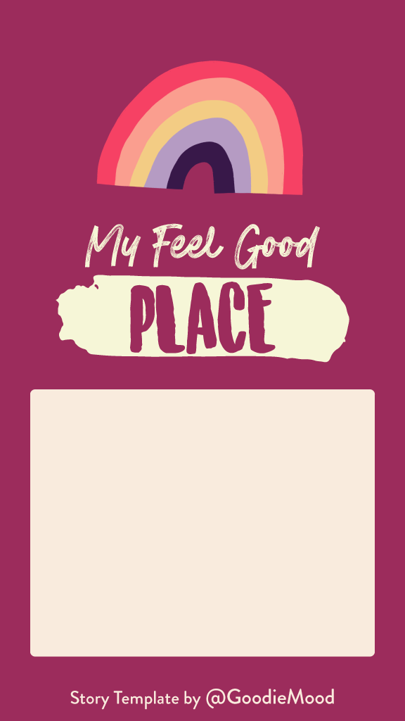 Free Instagram Story Template - My favorite place
