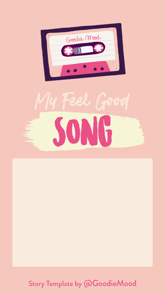 Free Instagram Story Template - My favorite song