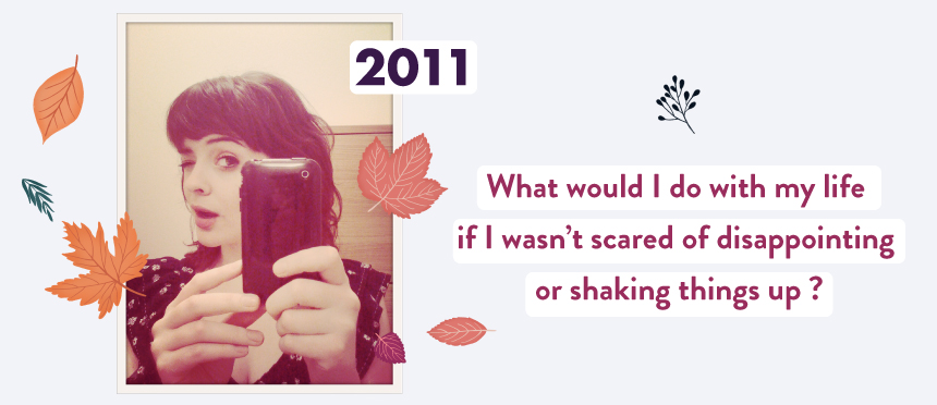 goodiemood_ What would I do with my life if I wasn't scared of disappointing or shaking things up ?