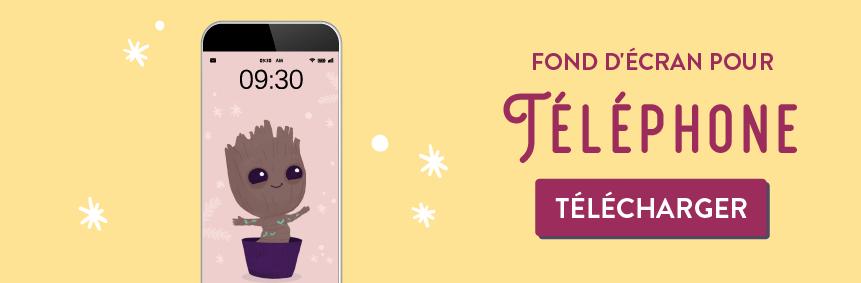 """Telechargez votre fond d""""écran gratuits decembre 2019 I am groot - Goodie Mood - blog feel good"""