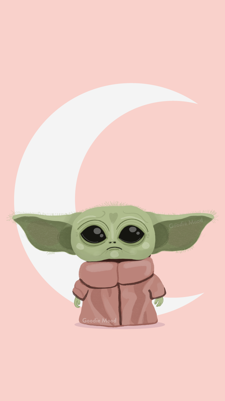 Free Wallpaper And Calendar For January 2020 Baby Yoda Goodie Mood