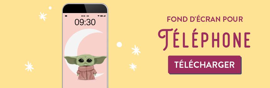 Telechargez fond d'écran gratuit Baby yoda pour telephone sur goodie mood