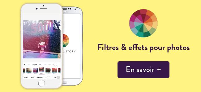 Mes apps préférées : Color Story pour Filtres et effets Instagram