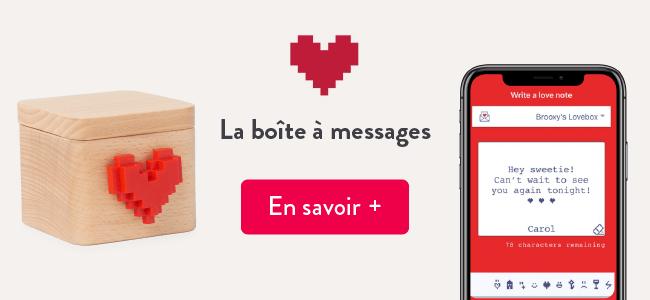 Mes applis préférées : Love Box, la boîte à messages