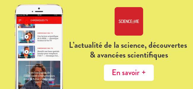 Mes applis préférées : science et vie magazine