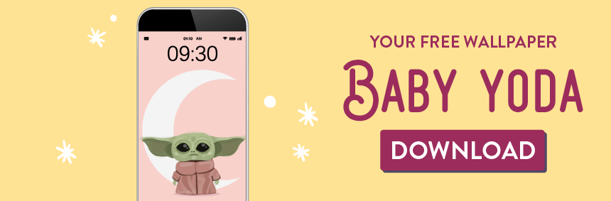 download your free wallpaper of Baby Yoda - Goodie Mood, the feel good blog
