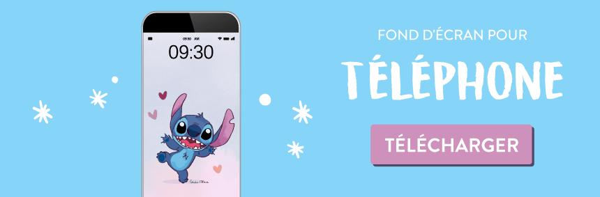 Téléchargez gratuitement le fond d'écran Stitch pour mars 2020 - iphone - Goodie mood le blog. feel good