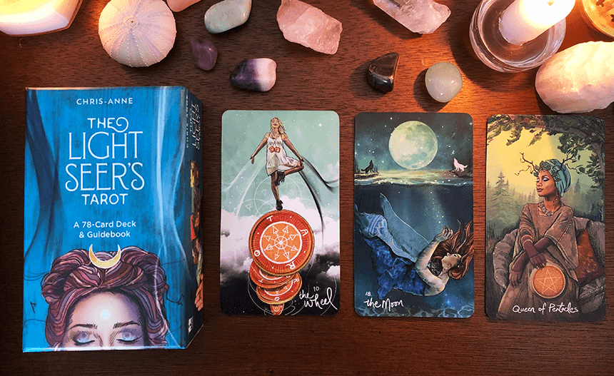 The Light Seer's Tarot, photo of the deck