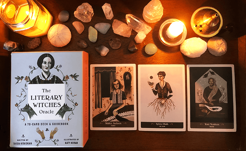 The Literary Witches Oracle, photo of the deck