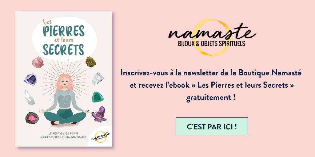 Inscrivez-vous à la newsletter de la boutique Namasté