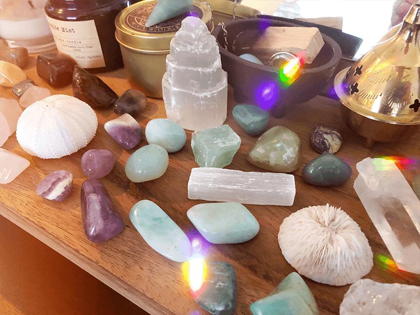Ma collection de pierres et cristaux - goodie mood