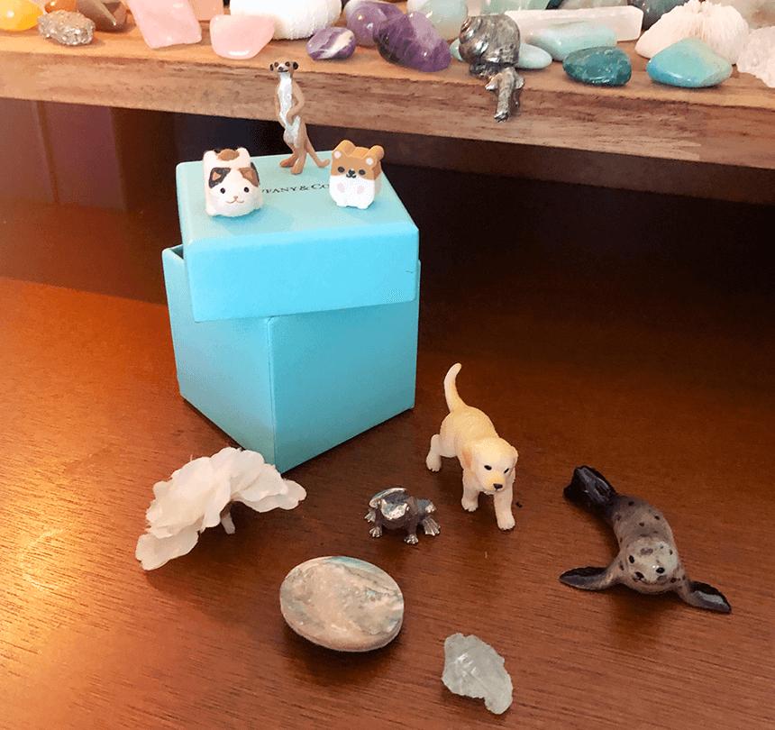 Mes petits trésors cachés sur mon autel