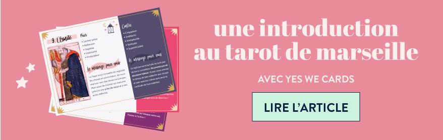 """Lire l'article """"une introduction au tarot de Marseille"""" avec Yes We Cards"""