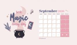 telechargez le fond d'ecran wallpaper et calendrier gratuits pour septembre 2020 sur Goodie Mood