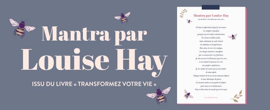 """Prière de Louise Hay pour s'entourer de lumière - """"Transformez votre vie"""""""