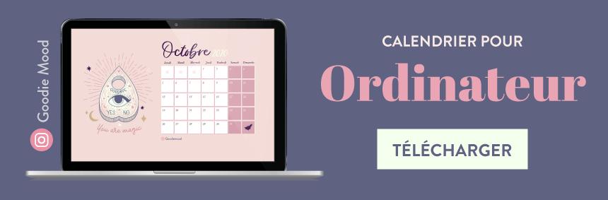 Telechargez le calendrier ouija magie goodie mood pour octobre 2020