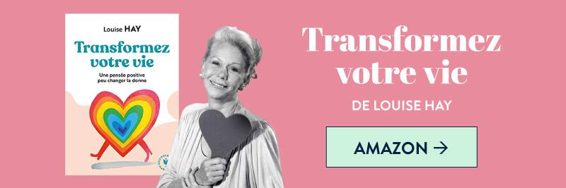 """""""Transformez votre vie"""" de Louise Hay sur Amazon"""