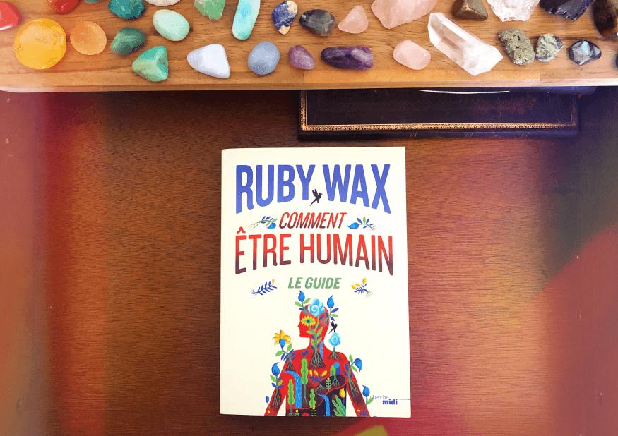 """concours editions du cherche midi - """"comment être humain"""" de Ruby Wax - gagnez le livre"""