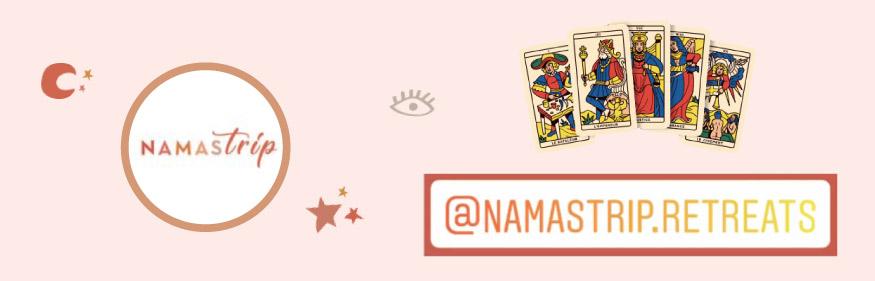 Namastrip retreats concours Tarot