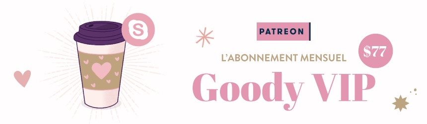 Soutenez Goodie Mood en devenant mécènes sur Patreon !