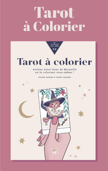 Tarot à colorier par Goodie Mood