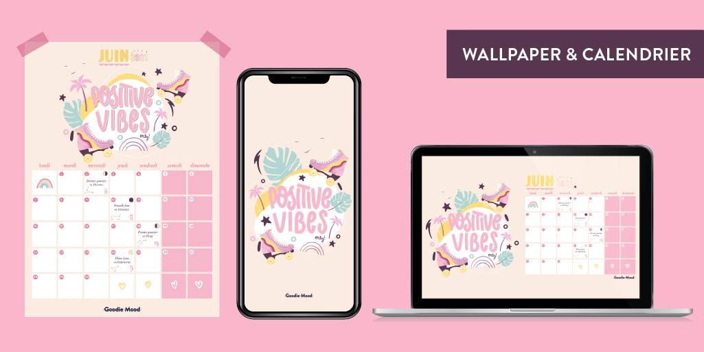 wallpaper et calendrier illustres pour juin 2021