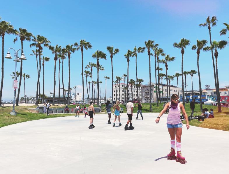 Venice beach - roller skates
